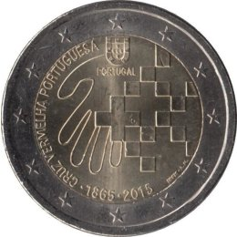 Portugal 2 Euro 2015 150th Anniversary of the Portuguese Red Cross