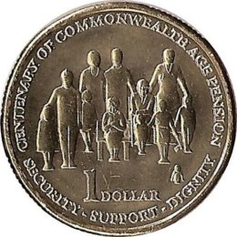 Australien 1 Dollar 2009 Age Pension