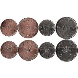 Oman 5, 10, 25, 50 Baisa