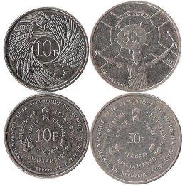 Burundi 10, 50 Francs 2011