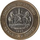 """Lesotho 5 Maloti 1995 """"50 Jahre UN"""""""
