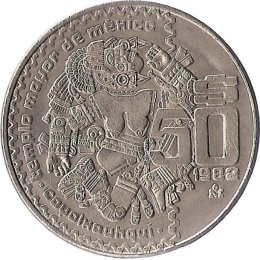 Mexiko 50 Pesos 1982-1984