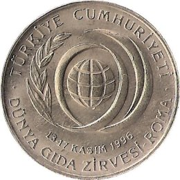 "Tuerkei 50 Bin Lira 1996 ""FAO"""