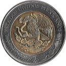 """Mexiko 5 Pesos 2009 """"Eulalio Gutiérrez"""""""