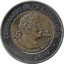 """Mexiko 5 Pesos 2008 """"Ricardo Flores Magón"""""""