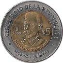 "Mexiko 5 Pesos 2009 ""Belisario Domínguez"""