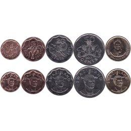 Swasiland 5, 10, 20, 50 Cents 1 Lilangeni 2011