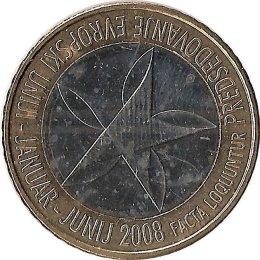 "Slowenien 3 Euro 2008 ""Präsidentschaft"""