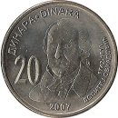 "Serbien 20 Dinara 2007 ""Dositej Obradovic"""