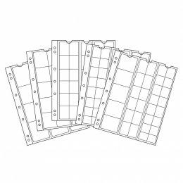 Münzhüllen NUMIS Sortiment (17/25/34/44/MIX) 5er Pack Leuchtturm