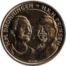 "Daenemark 20 Kronen 2017 ""Golden wedding Anniversary..."