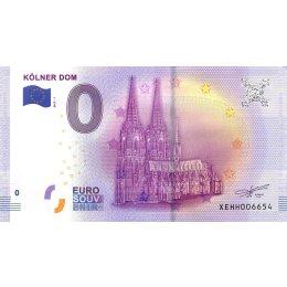 """Deutschland 0-Euro Schein 2017-1 """"KÖLNER DOM"""""""