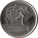 "Kanada 25 Cents 2009 ""Cindy Klassen"""