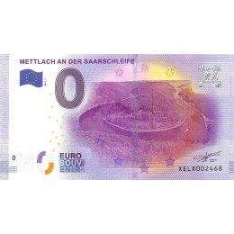 Deutschland 0-Euro Schein 2017-1 METTLACH AN DER SARRSCHLEIFE