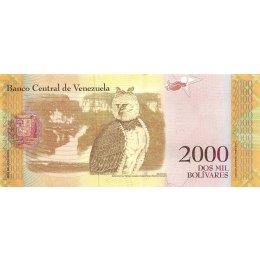 Venezuela 2000 Bolivares 2016 (2017)