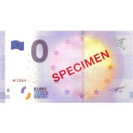 0-Euro Schein SPECIMEN