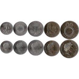 Salomonen 10, 20, 50 Cents, 1, 2 Dollars 2012