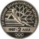 """Bulgarien 2 Leva 1987 """"Olympiade"""""""