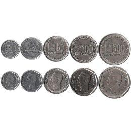 Venezuela 10, 20, 50, 100, 500  Bolivares 2002-2004