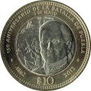 "Mexiko 10 Pesos 2012 ""150th Anniversary of the..."