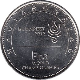 "Ungarn 50 Forint 2017 ""17th FINA World Championships"""