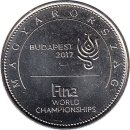 "Ungarn 50 Forint 2017 ""17th FINA World..."