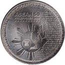 """Philippinen 1 Piso 2017 """"Chairmanship of ASEAN"""""""