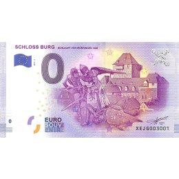 Deutschland 0-Euro Schein 2017-4 SCHLOSS BURG