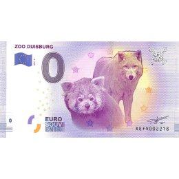 Deutschland 0-Euro Schein 2017-4 ZOO DUISBURG