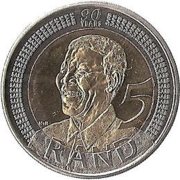"Suedafrika 5 Rand 2008 ""Mandela"""