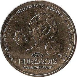 """Ukraine 1 Hryvni 2012 """"UEFA Euro 2012"""""""
