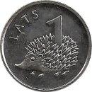 "Lettland 1 Lats 2012 ""Hedgehog"""