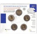 Deutschland 2 Euro Gedenkmünzenset 2008...