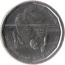 "Fidschi 50 Cents 2013 ""High Jump Gold Medalist Iliesa Delana"""