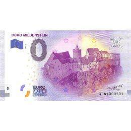 Deutschland 0-Euro Schein 2017-1 BURG MILDENSTEIN