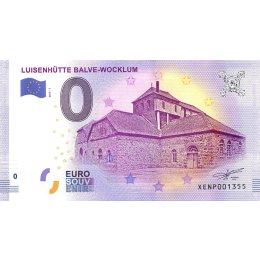 Deutschland 0-Euro Schein 2017-1 LUISENHÜTTE BALVE - WOCKLUM