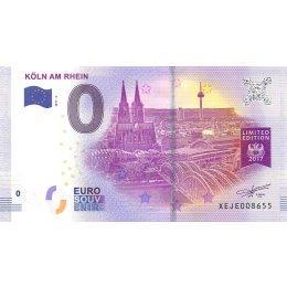 """Deutschland 0-Euro Schein 2017-2 """"KÖLN AM RHEIN"""""""
