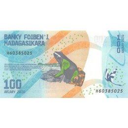 Madagaskar 100, 200, 500, 1000 Ariary 2017