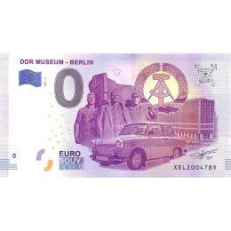"""Deutschland 0-Euro Schein 2017-2 """"DDR MUSEUM - BERLIN"""""""