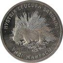 "Kasachstan 50 Tenge 2009 ""Porcupine"""