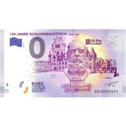 Deutschland 0-Euro Schein 2017-6 130 JAHRE SCHLOSSBAUVEREIN