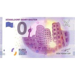 Deutschland 0-Euro Schein 2017-2 DÜSSELDORF GEHRY-BAUTEN