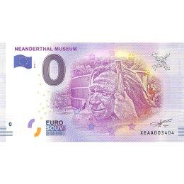 """Deutschland 0-Euro Schein 2018-1 """"NEANDERTHAL MUSEUM"""""""