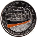 "Panama 1/4 Balboa 2016 ""1914 first traffic for the Panama canal"""