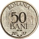 "Rumaenien 50 Bani 2017 ""10 years since Romanias accession to the European Union"""