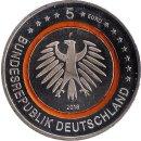 """Deutschland 5 Euro 2018 """"Subtropische Zone"""" F"""