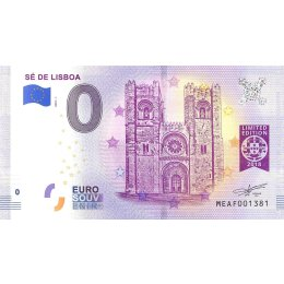 """Portugal 0-Euro Schein 2018-1 """"SÉ DE LISBOA"""""""
