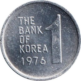 Suedkorea 1 Won 1976