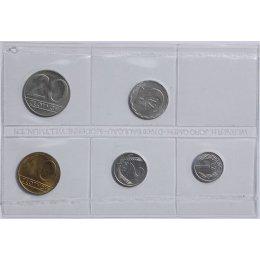 Polen 1, 2, 5, 10, 20 Zloty 1990