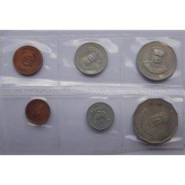 Tonga 1, 5, 10, 20, 50 Seniti 1981